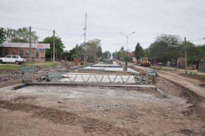 Peppo inaugurará cuadras de pavimento en el aniversario de Colonias Unidas