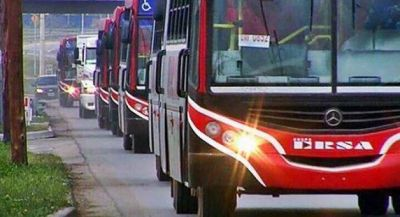 Cruce entre la oposición y el área de transporte