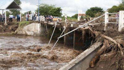 Aseguran que cuando llueve, la situación de Bañado de Ovanta es crítica