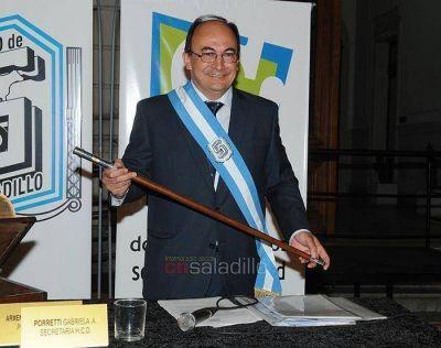 El Intendente José Luis Salomón abrirá su primer periodo de Sesiones Ordinarias