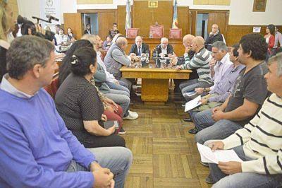 Arroyo prometió llevar las inquietudes de la industria pesquera ante el Presidente