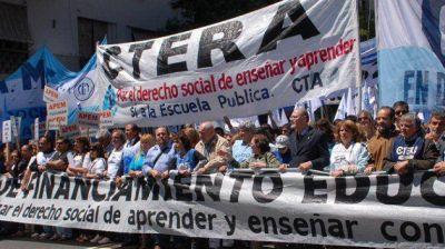 Agmer confirmó su adhesión al paro nacional docente del 4 de abril