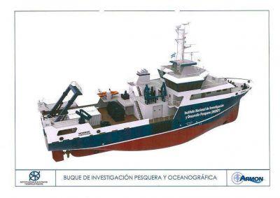 Comenz� la construcci�n del nuevo buque de investigaci�n del INIDEP