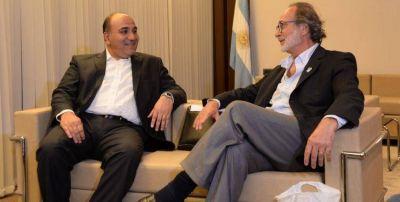 Manzur se reunió con Daniel Chain por la obra pública de la provincia
