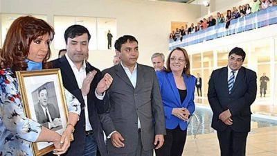 Un natatorio que inauguró Cristina Kirchner, pero que nunca funcionó