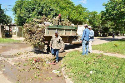 La Comuna acentúa operativo de limpieza en zona sur de la ciudad