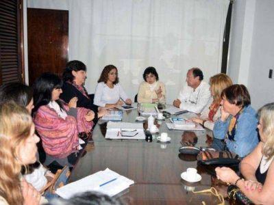Revisan situación de las instituciones de gestión privada y social de Jujuy