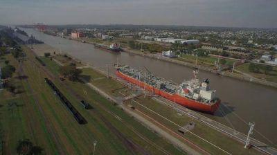La terminal de contenedores del Puerto La Plata, al borde del cierre definitivo