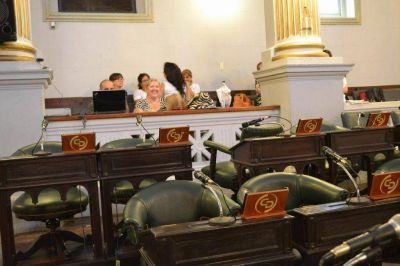 Oficialismo espera que el Senado pueda sesionar pasado ma�ana