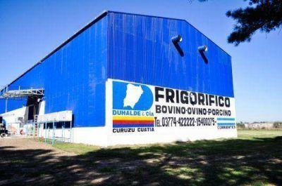 El ministro Osella garantizó asistencia a frigorífico de Curuzú Cuatiá