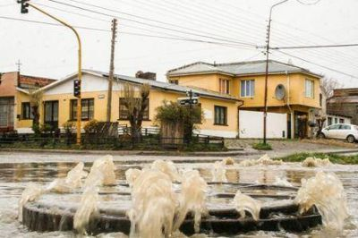 La red pluvio-cloacal no tiene mantenimiento hace cuatro años y puede colapsar