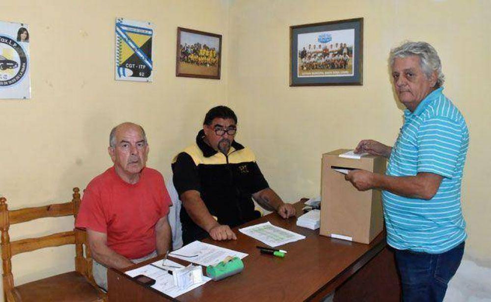 Sindicato de Peones de Taxis: Boccalatte sacó 61 votos