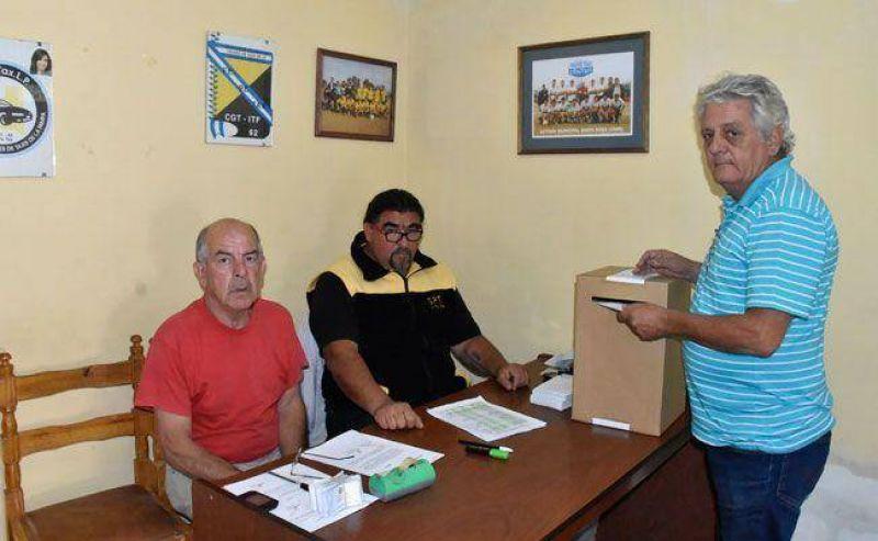 Sindicato de Peones de Taxis: Boccalatte sac� 61 votos