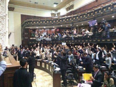 El Parlamento venezolano aprob� la Ley de Amnist�a a favor de los presos pol�ticos