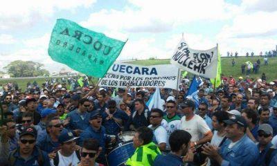 """Hereñú """"Si no se revierte esta medida en Atucha, nosotros no podemos garantizar la paz social"""""""