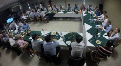 Intendentes peronistas se reunieron en Bolívar