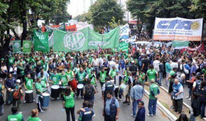 La CTA Autónoma marchó en reclamo de políticas salariales y contra despidos