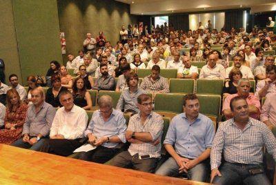 Secco encabezó el encuentro del FpV de la región capital