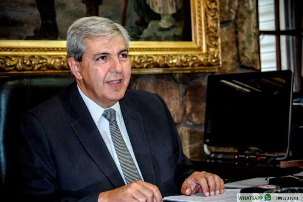 Carlos Haquim es el nuevo presidente del PJ de Jujuy