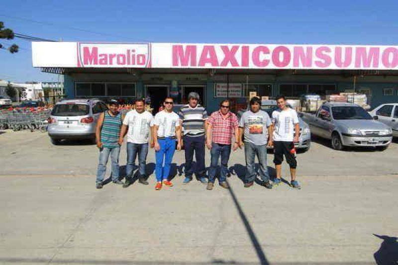 El Sindicato de Camioneros est� desarrollando una medida de fuerza en los supermercados Maxiconsumo