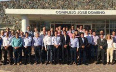 Intendentes del FpV se reunieron en Bolívar por el destino de la FAM