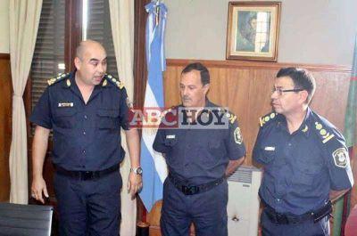 Asumi� el nuevo jefe de la Departamental Tandil, Comisario Mayor Juan Manuel Rocha