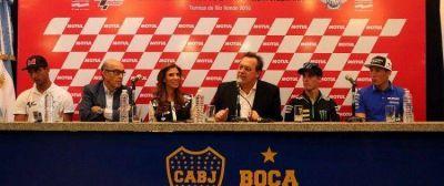 La Gobernadora participó de la conferencia de presentación del MotoGP en Buenos Aires