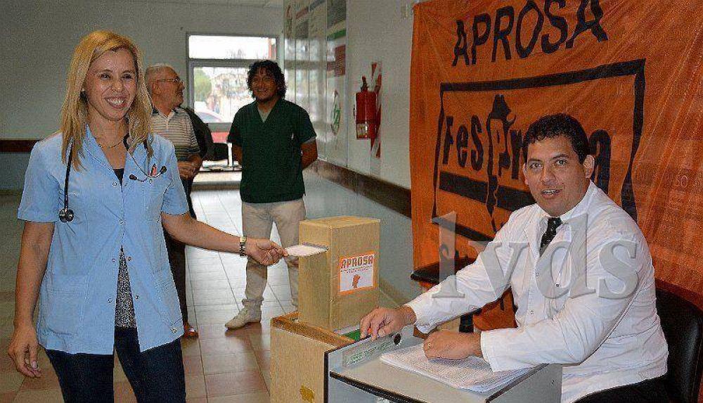 Reeligen a Andrea Pérez como secretaria general de APROSA
