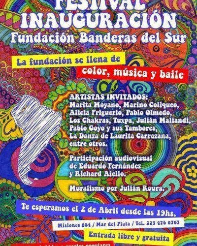 La Fundación Banderas del Sur realizaráun festival musical con varios artistas