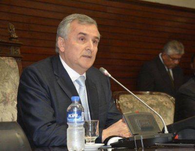 El Gobernador abre el período de sesiones