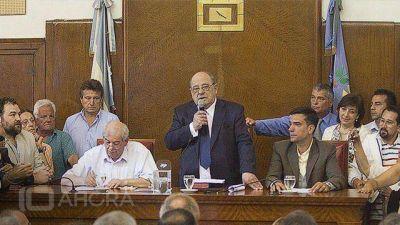 Por primera vez, Arroyo inaugura las sesiones del Concejo Deliberante