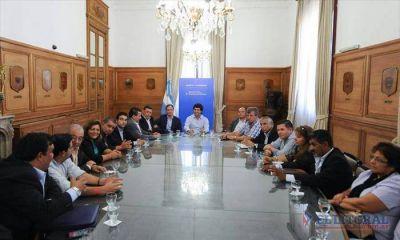 """""""Camau"""" Espínola lideró una delegación de intendentes correntinos que dialogaron con el viceministro del Interior"""