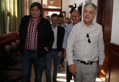Máximo Kirchner reunió a intendentes del FpV en Ensenada