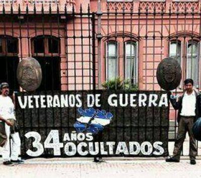 Ex soldados de Malvinas: Vigilia 2 de abril en Plaza de Mayo