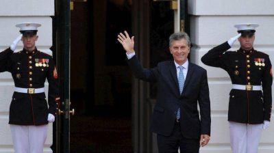 Mauricio Macri en EEUU: