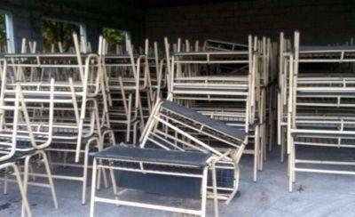 Llegó mobiliario para 20 aulas de escuelas pero hace falta cubrir otras 130