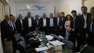 Reunión nacional de Puertos en Quequén