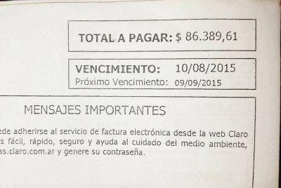 Indignaci�n en Salvador Mazza por los exhorbitantes gastos de tel�fono en la Municipalidad