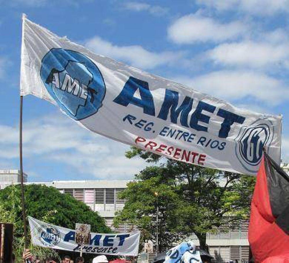 Amet anunció que no se adhiere al paro de Ctera
