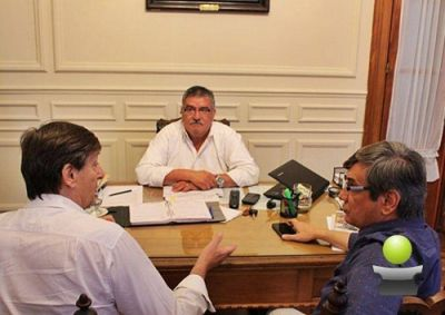 EL INTENDENTE VICENTE GATICA SE REUNIO CON LOS DIPUTADOS NACIONALES SERGIO BUIL Y PABLO TORELLO