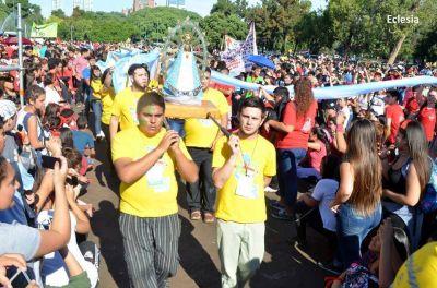 J.R.J.: miles de jóvenes se reunieron para celebrar la Pascua