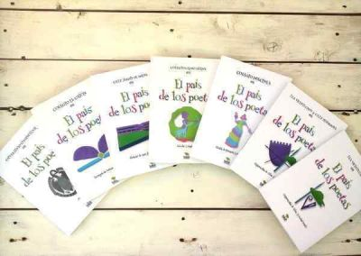 Desarrollo del proyecto internacional �Azul en el Pa�s de los Poetas�