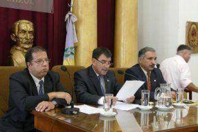 El Intendente realizó la apertura de sesiones ordinarias del Concejo Deliberante