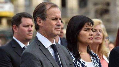 Bordet dio su primer mensaje como presidente del PJ Entre R�os