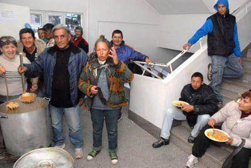 Organizaciones sociales tomaron la sede de Desarrollo Social