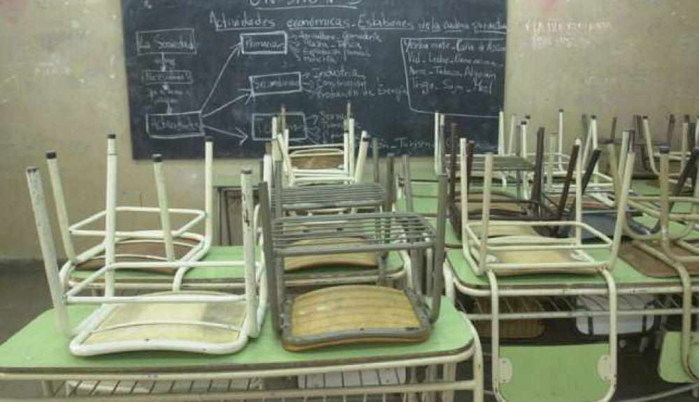 Alto acatamiento al paro docente en Catamarca