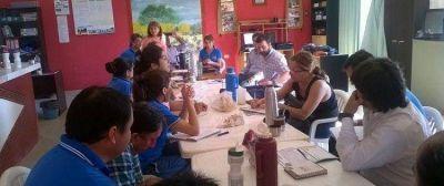 Se concretó reunión de trabajo para planificar acciones a favor del sector rural
