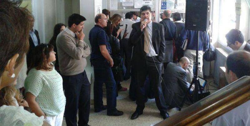 Judiciales parar�n mi�rcoles y jueves: reclaman un aumento del 45%