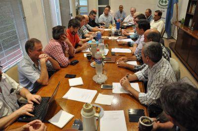 Legisladores del Frente para la Victoria abordaron un amplio temario con la Mesa de Enlace