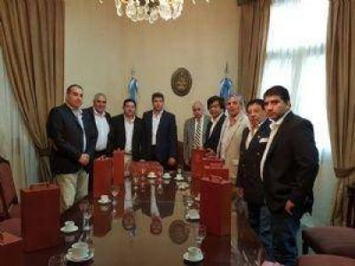 Respaldo del PJ Catamarca a Gioja como conductor nacional